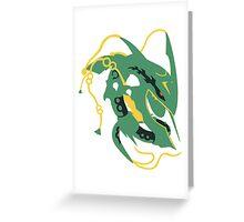 Mega Rayquaza Greeting Card