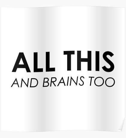 All This & Brains Too Poster