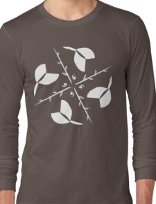 Tulips & Twigs (INVERT) (LAVENDER) Long Sleeve T-Shirt