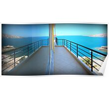 Mirror Image - Travel Photography Poster