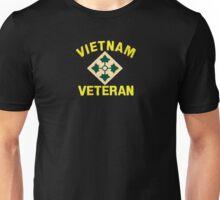 4th Infantry Vietnam Veteran Unisex T-Shirt