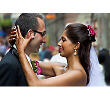 Eternal Vows - Outdoor Montreal Photographic Print