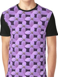 Natural Blooming Flowers - Violet Bornoias Graphic T-Shirt