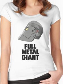 Full Metal Giant Women's Fitted Scoop T-Shirt