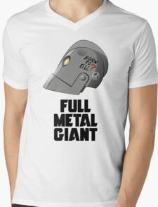 Full Metal Giant Mens V-Neck T-Shirt