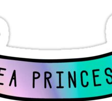 Sea Princess Ribbon Sticker