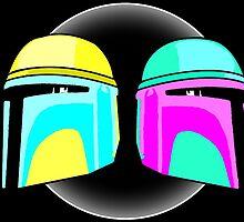Pastel Boba/Jango Fett - Star Wars by MammothMixups