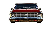 1972 Chevy Truck Photographic Print