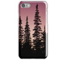 Evergreens at Twilight iPhone Case/Skin