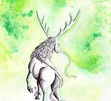Elemental Earth Qilin by Anila Tac