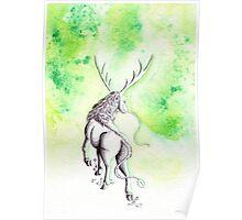 Elemental Earth Qilin Poster