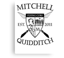 Mitchell Quidditch Design 2 Canvas Print