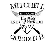 Mitchell Quidditch Design 2 Photographic Print