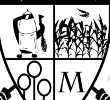 Mitchell Quidditch Design 2 Sticker