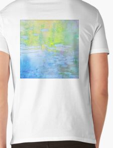 Impression of Seacourt Stream with Spatterdock Mens V-Neck T-Shirt