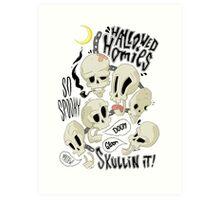 Hallowed Homies Art Print