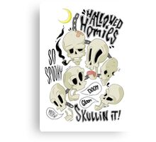 Hallowed Homies Canvas Print