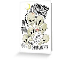 Hallowed Homies Greeting Card
