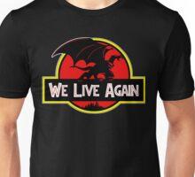 We Live Again - Gargoyles Jurassic Park Unisex T-Shirt