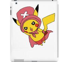 pikachu - chopper  iPad Case/Skin