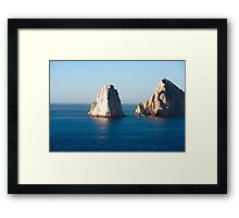 El Arco de Cabo San Lucas Framed Print