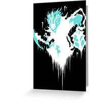 Thresh Ink Black Greeting Card