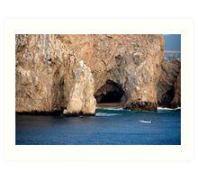 Lands End at Cabo San Lucas Art Print