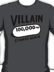 JJ DOOM - Villain Strikes Again T-Shirt