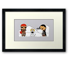 Sugar, spice and ghost Framed Print