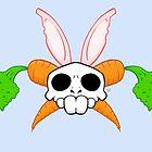 New Rabbit Skull by crabro
