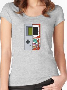 Game Boy Dissected A Women's Fitted Scoop T-Shirt