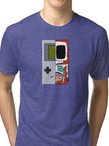 Game Boy Dissected A Tri-blend T-Shirt