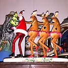Santa, Steins and Conga Lines by WildestArt