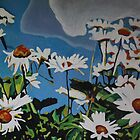 Oxeye Daisies by Emma Cownie