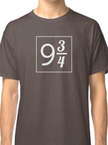 Cool 9 3/4 Numbers  Classic T-Shirt