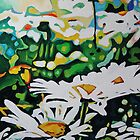 Wild Oxeye Daisies by Emma Cownie