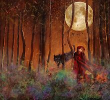 Little Red Riding Hood and the Wolf by Angela Stanton