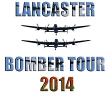 Lancaster bomber tour 2014 by AviationPrints