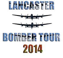 Lancaster bomber tour 2014 by AviationPrints