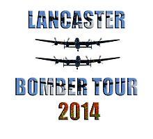Lancaster bomber tour 2014 Photographic Print