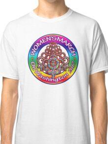 Women's March on Washington 2017 Rainbow Classic T-Shirt