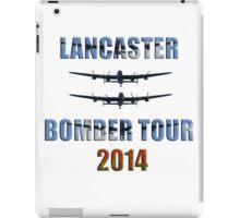 Lancaster bomber tour 2014 iPad Case/Skin