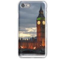 Westminster at night  iPhone Case/Skin