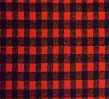 RED BUFFALO PLAID SMARTPHONE CASE (Phoney) by leethompson