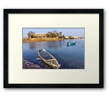 boat no. 14 Framed Print