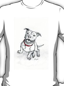 Happy Staffie T-Shirt