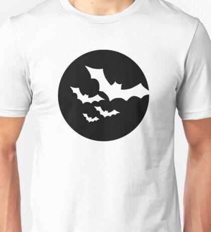 Bats black moon Unisex T-Shirt