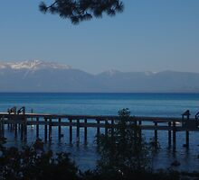 View of Lake Tahoe from Sugar Pine Point by KristinaL