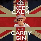Keep Calm - Carry Gin by Phil Potter