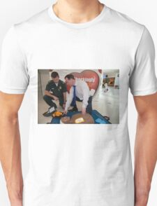 Councillor Peter Fortune at INTU shopping centre Unisex T-Shirt
